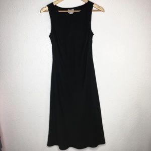 Ann Taylor LOFT Black Sheath Dress